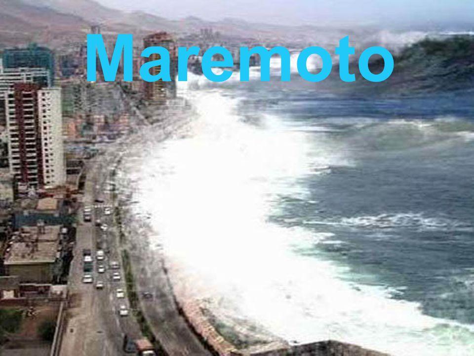 Un maremoto, también llamado tsunami Es una ola o un grupo de olas de gran energía y tamaño que se producen cuando algún fenómeno extraordinario desplaza verticalmente una gran masa de agua.