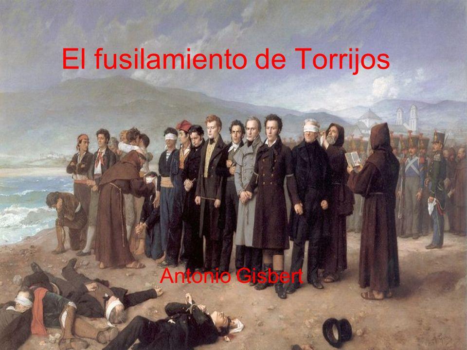 El fusilamiento de Torrijos Antonio Gisbert
