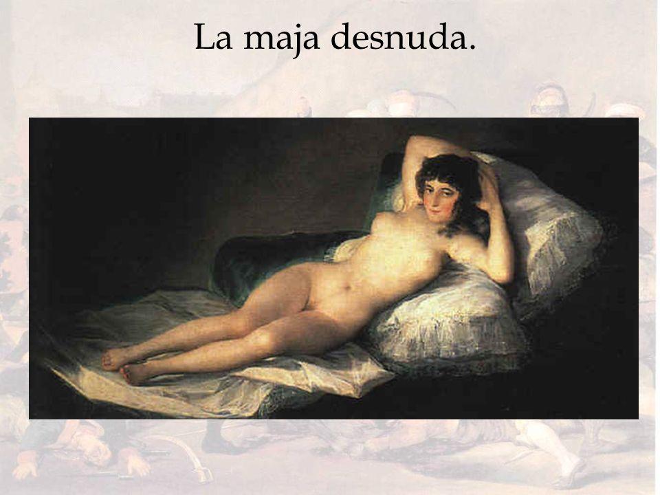La maja desnuda.