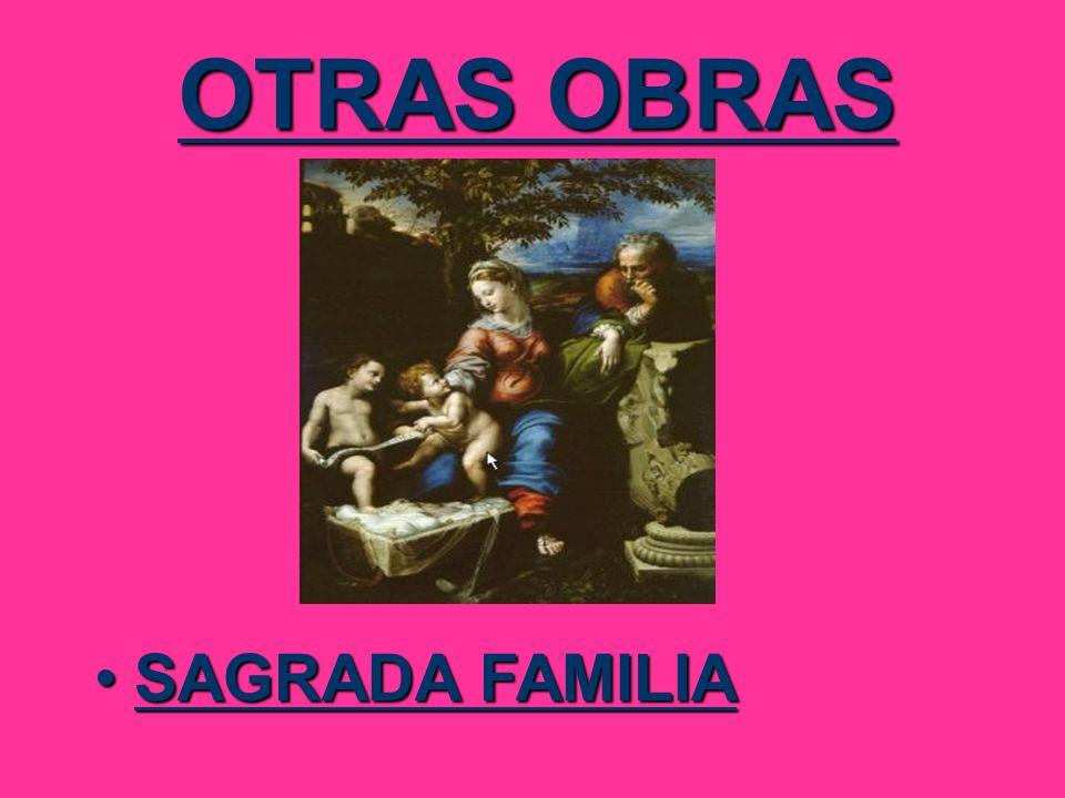 OTRAS OBRAS SAGRADA FAMILIASAGRADA FAMILIA