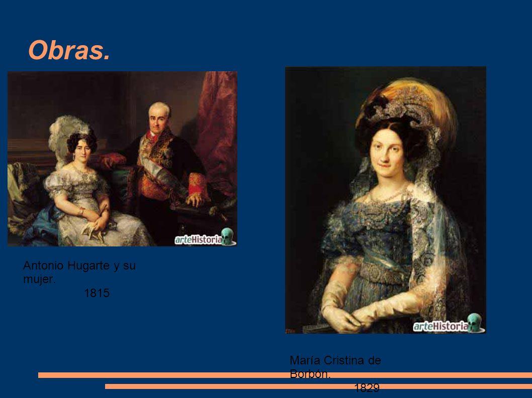 Obras. Félix a. López. 1832 Señora de Delicado. 1840