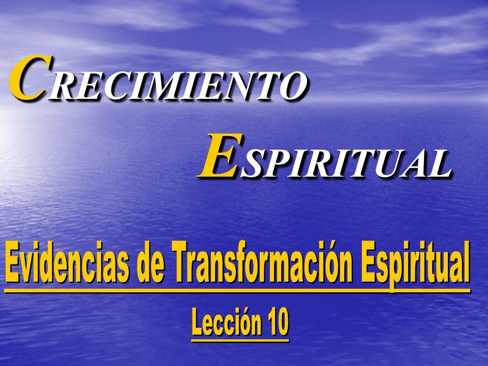 C RECIMIENTO E SPIRITUAL