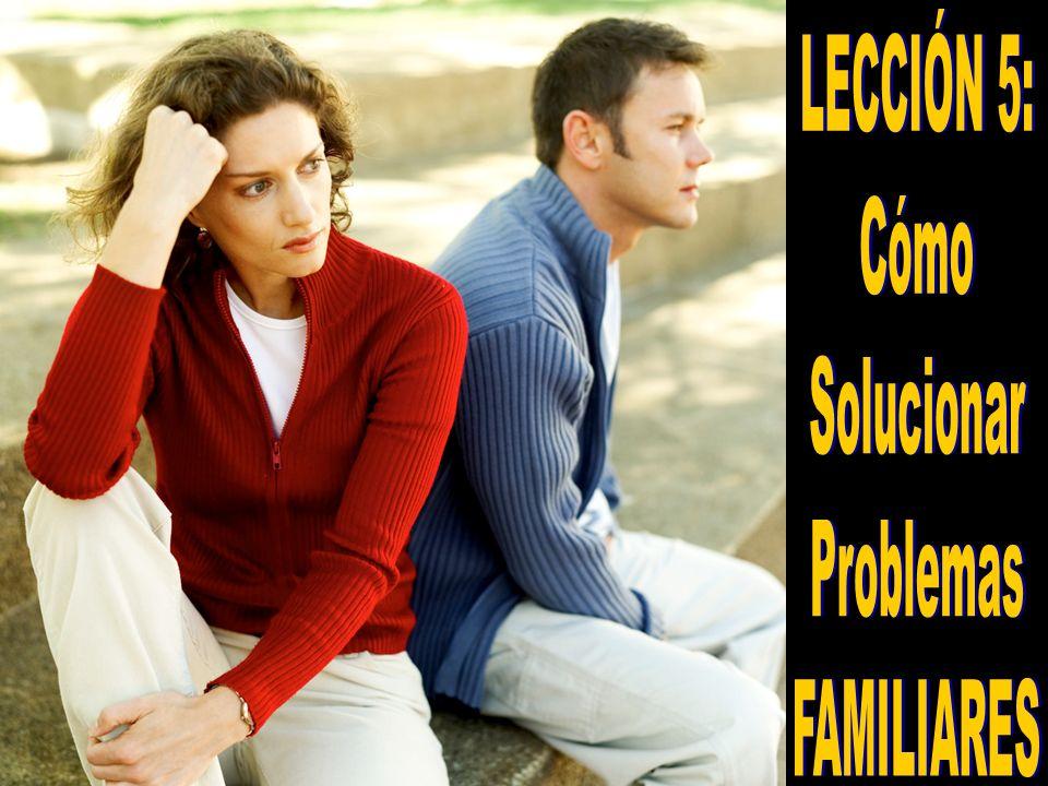 1.Los conflictos son algo común en todos los matrimonios y hogares.