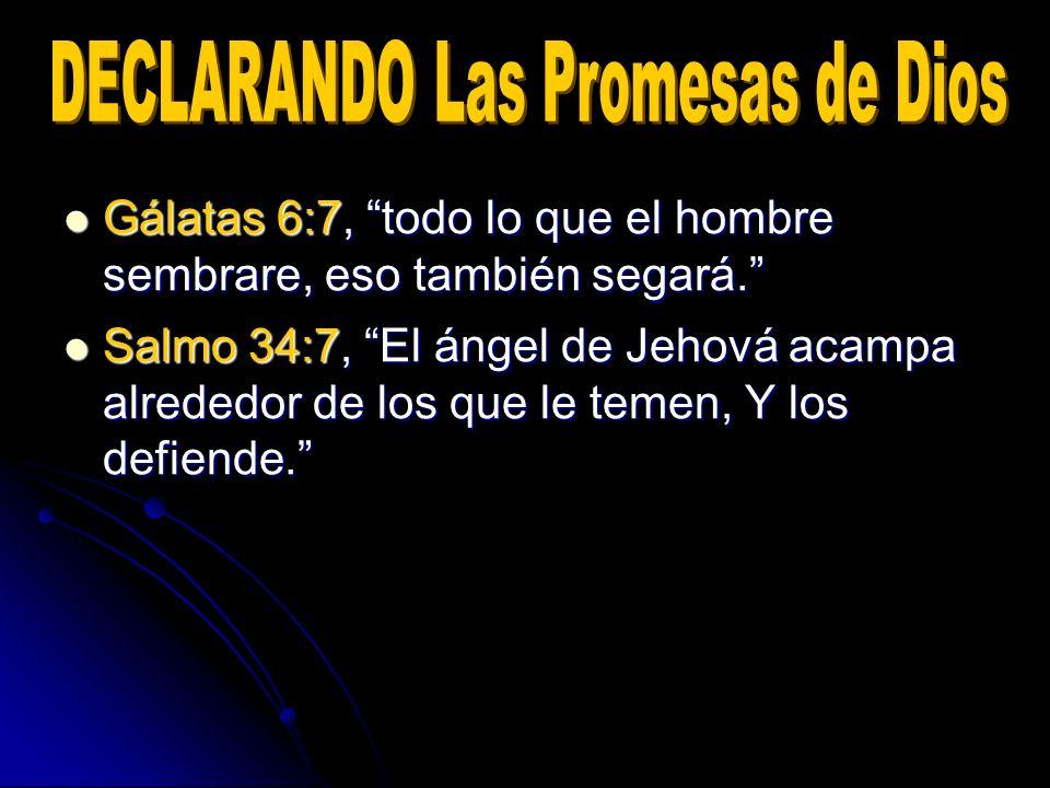 Salmo 34:7, El ángel de Jehová acampa alrededor de los que le temen, Y los defiende. Salmo 34:7, El ángel de Jehová acampa alrededor de los que le tem