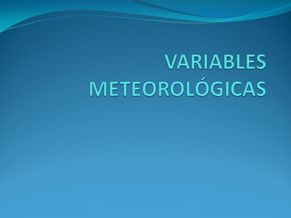 Factores del tiempo y del clima… b.La humedad, las nubes y las precipitaciones.