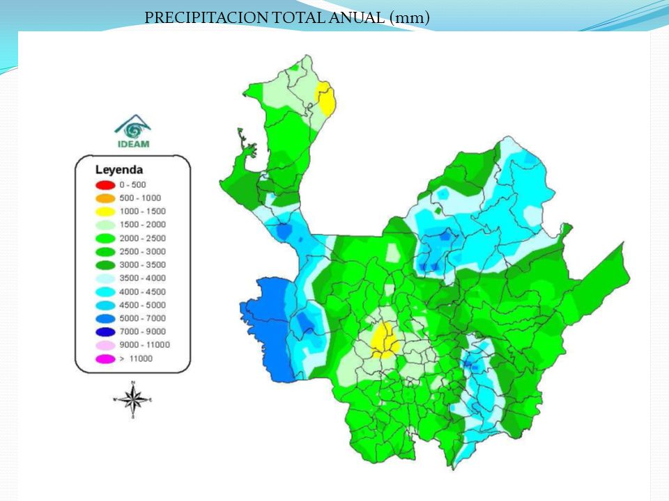 21/08/2011Elaboró: Yovany Londoño24 PRECIPITACION TOTAL ANUAL (mm)