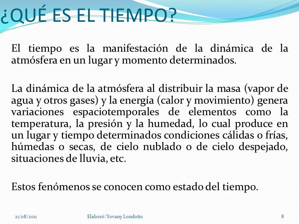 En Colombia no hay estaciones como en otros países, pero el relieve permite poseer tierras con distintas temperaturas, a las cuales se puede trasladar para descansar o por razones de salud.