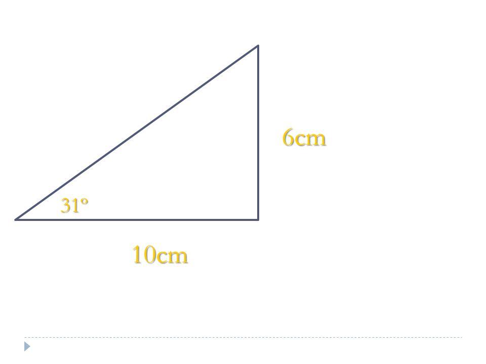 10cm 6cm 31º