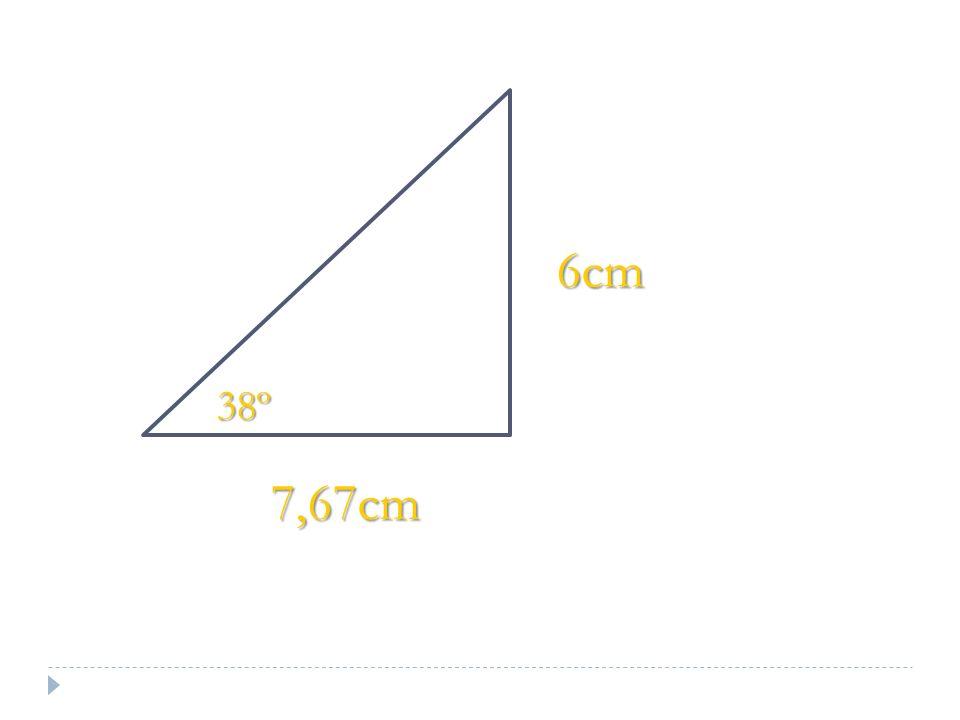 7,67cm 6cm 38º