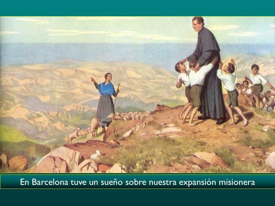 En Barcelona tuve un sueño sobre nuestra expansión misionera