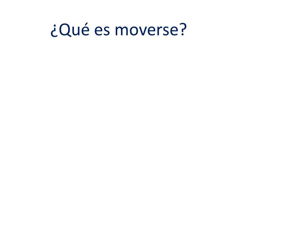 ¿Qué es moverse?