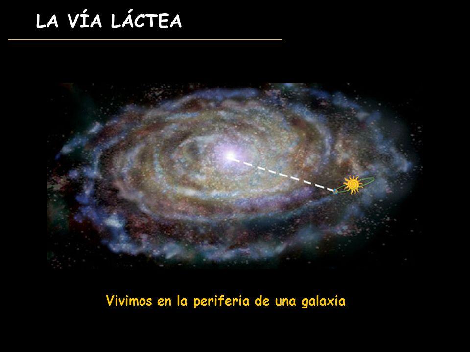 LA VÍA LÁCTEA Vivimos en la periferia de una galaxia