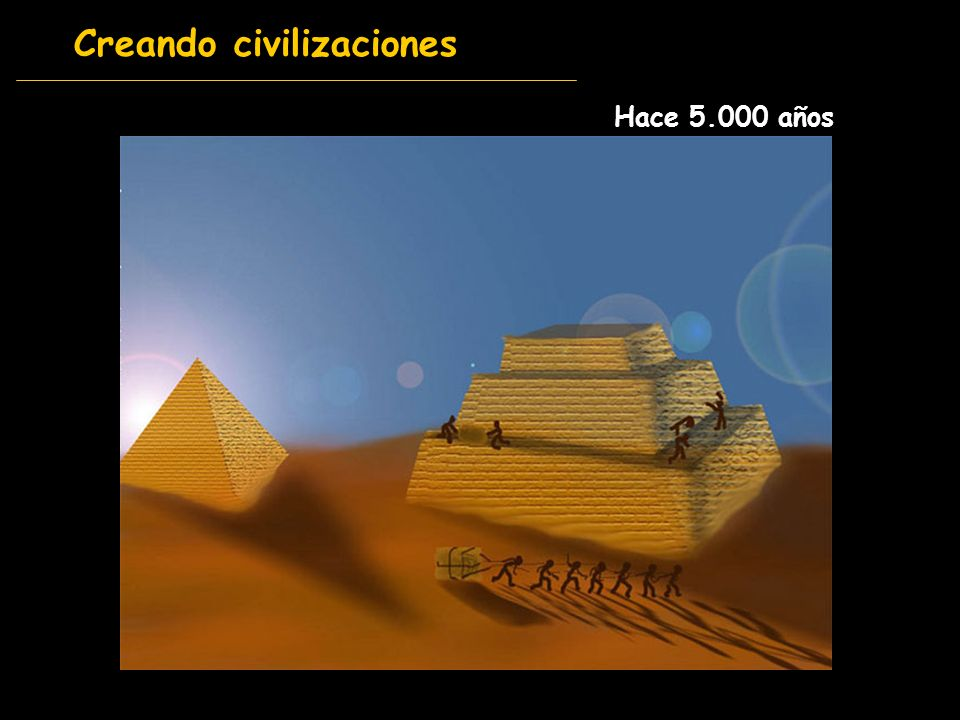 Creando civilizaciones Hace 5.000 años