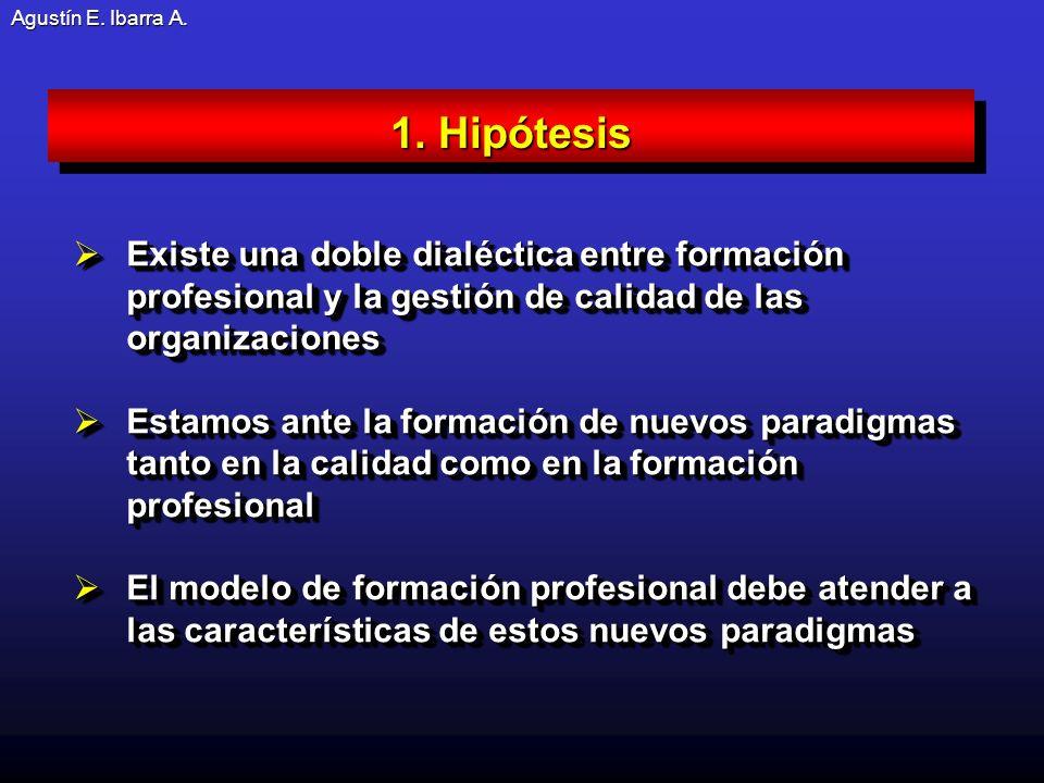 Agustín E.Ibarra A. Desarrollo curricular basado en competencias transversales.