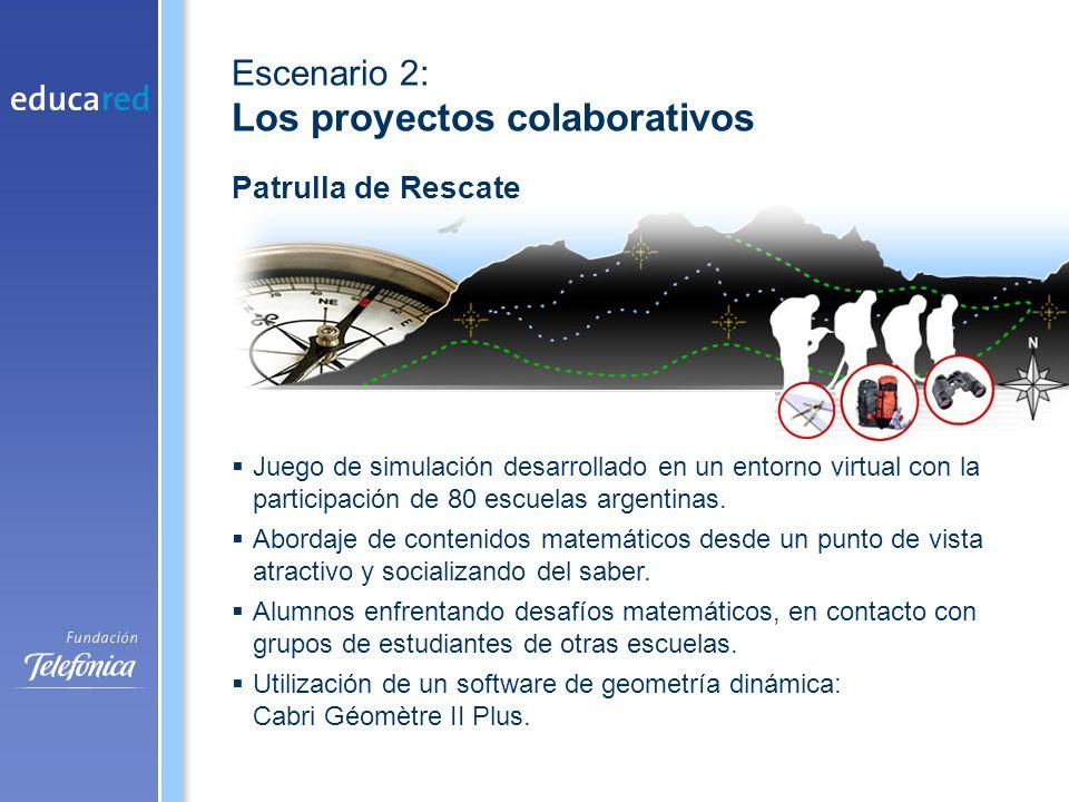 Juego de simulación desarrollado en un entorno virtual con la participación de 80 escuelas argentinas.