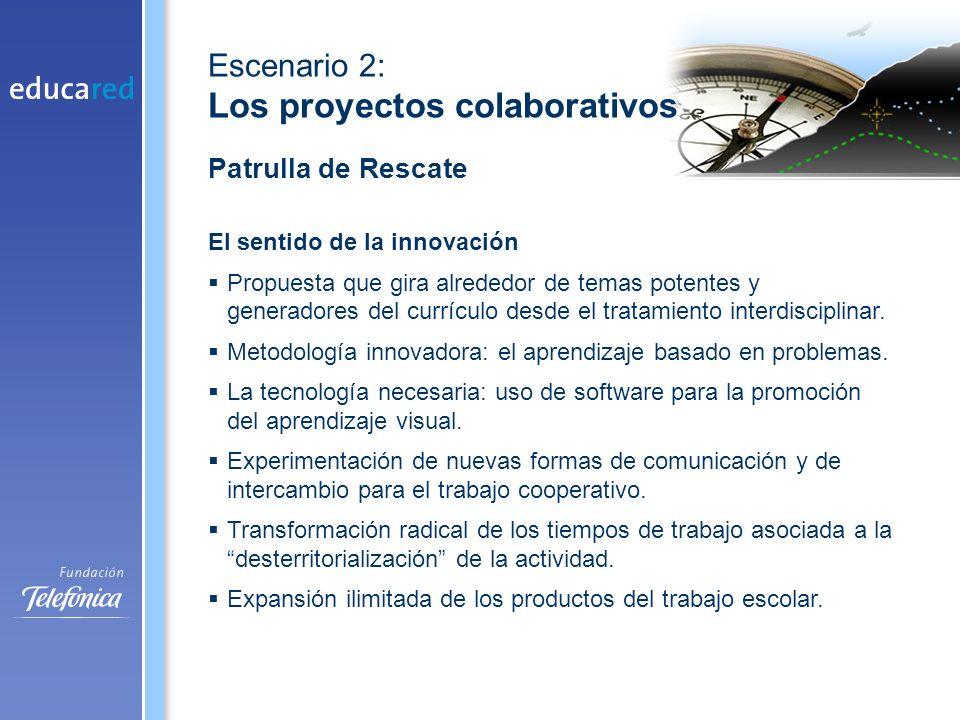 El sentido de la innovación Propuesta que gira alrededor de temas potentes y generadores del currículo desde el tratamiento interdisciplinar.