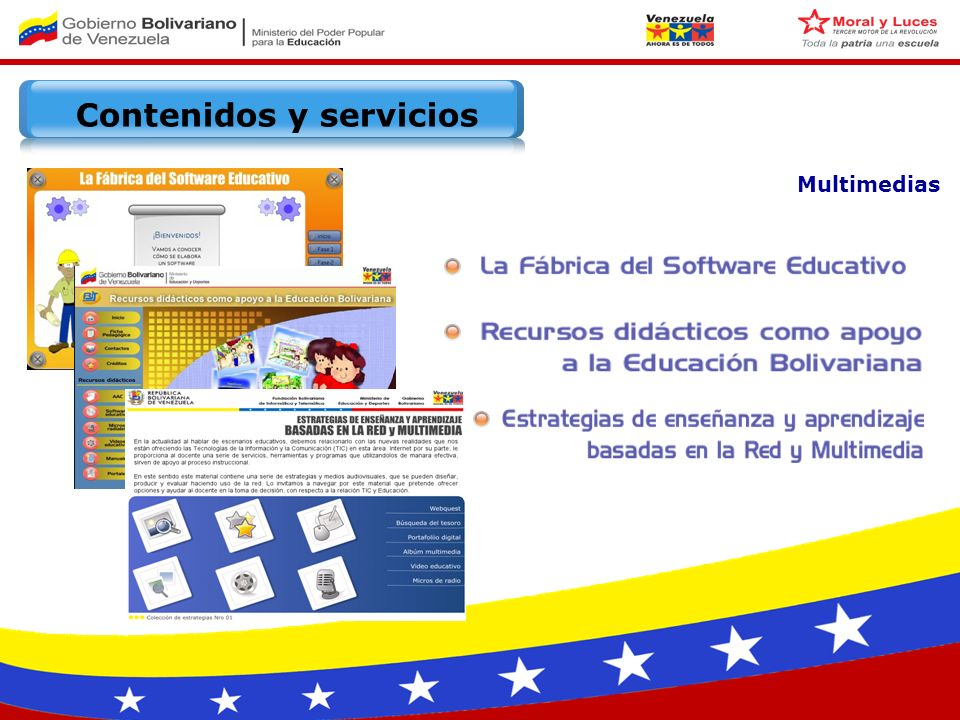 Multimedias Contenidos y servicios