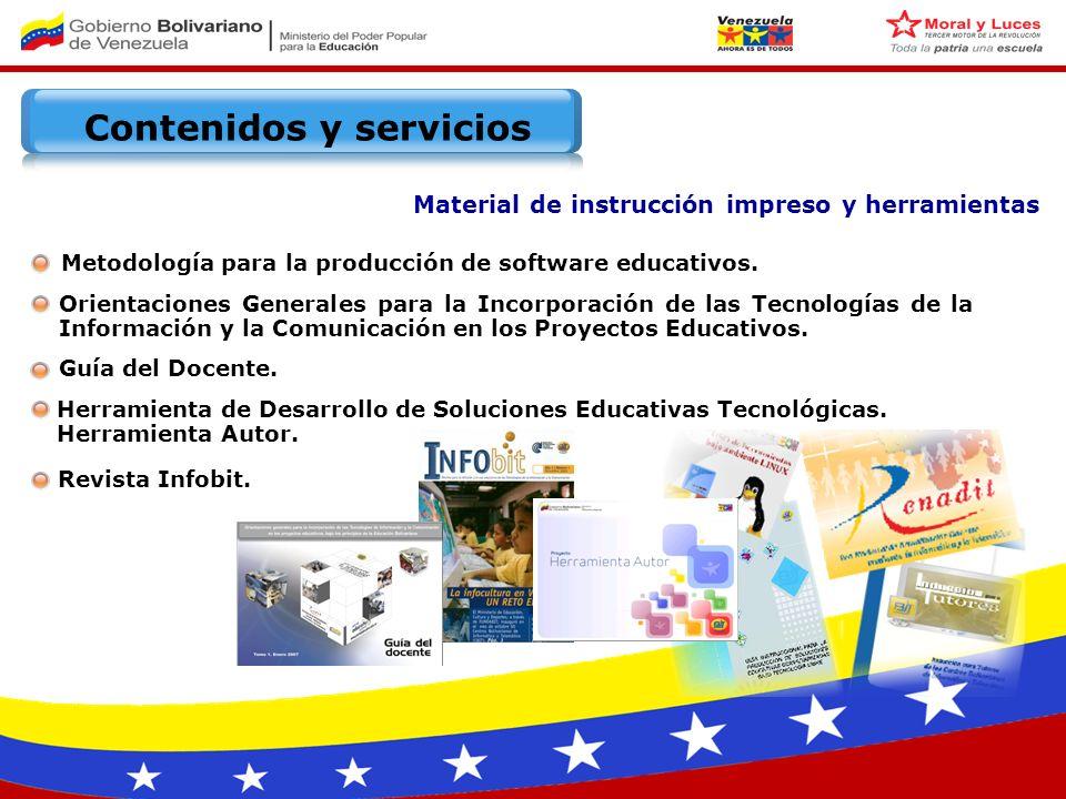 Metodología para la producción de software educativos.