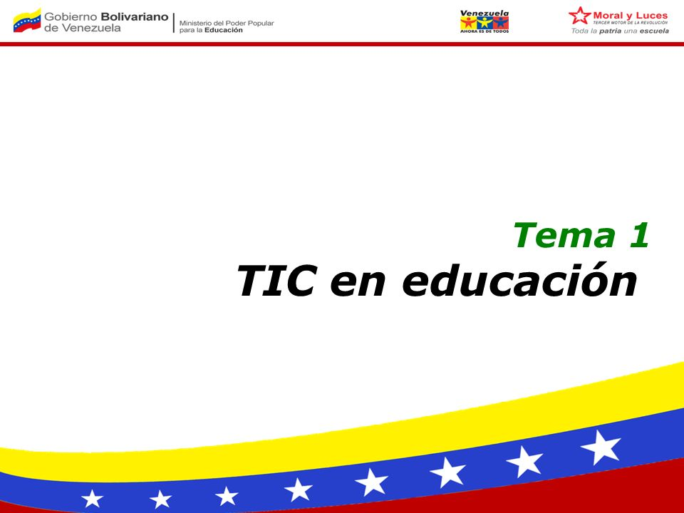 Tema 1 TIC en educación
