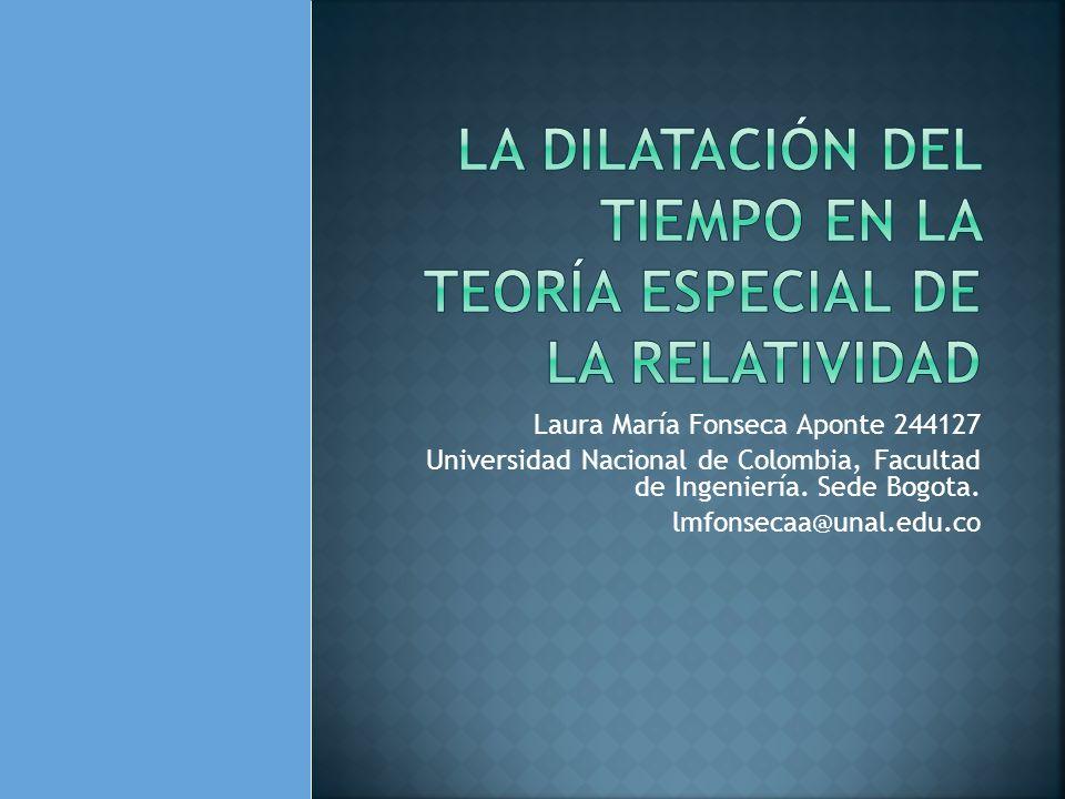 Laura María Fonseca Aponte 244127 Universidad Nacional de Colombia, Facultad de Ingeniería. Sede Bogota. lmfonsecaa@unal.edu.co