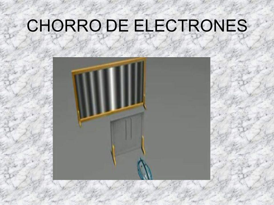 CHORRO DE ELECTRONES