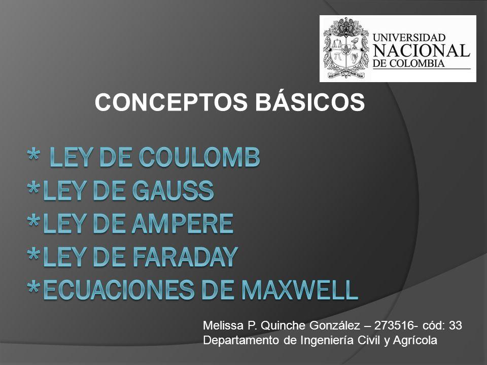 CONCEPTOS BÁSICOS Melissa P.