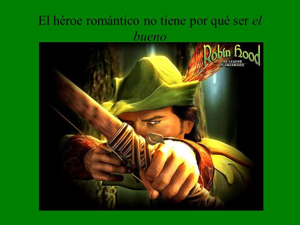 El héroe romántico no tiene por qué ser el bueno No, Robin, no me dispares