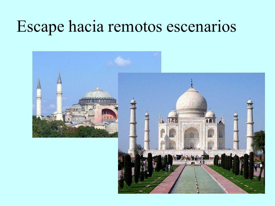 Escape hacia remotos escenarios