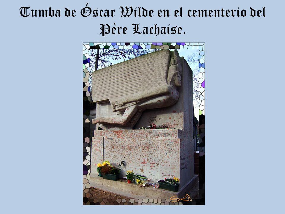 El 30 de noviembre muere en París, en el Hôtel d'Alsace, nº 13 de la Rue des Beaux Arts