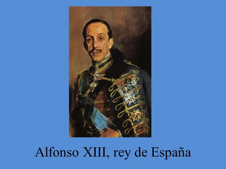 Alfonso XIII, rey de España
