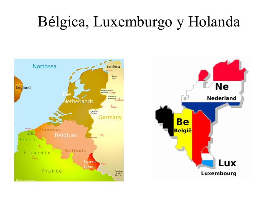 B é lgica, Luxemburgo y Holanda
