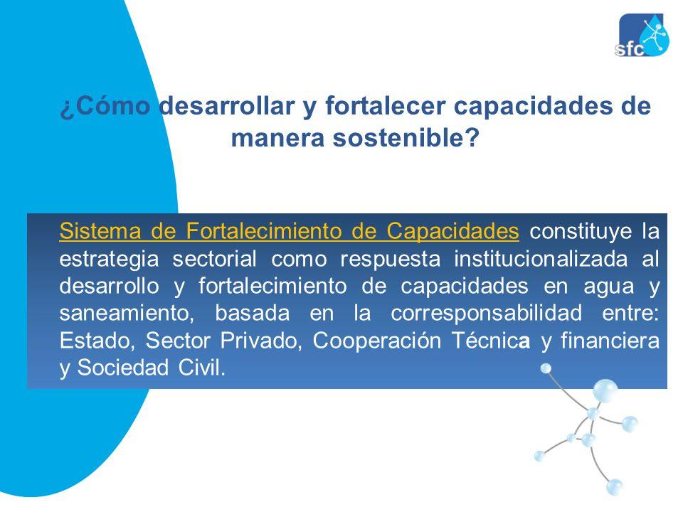 Sistema de Fortalecimiento de Capacidades constituye la estrategia sectorial como respuesta institucionalizada al desarrollo y fortalecimiento de capa
