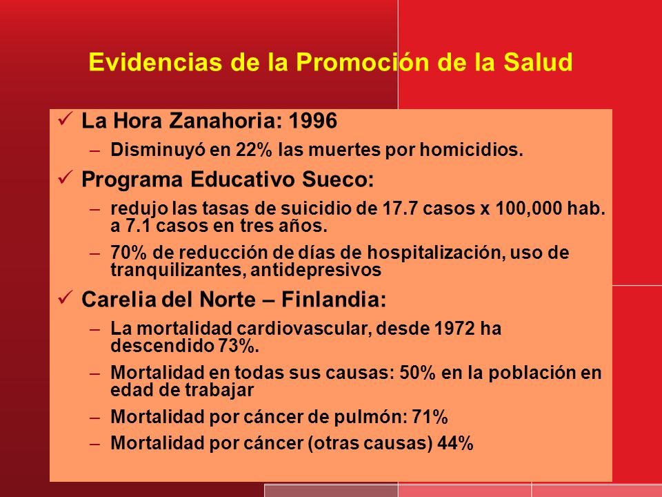 Prioridades de algunas experiencias Reducción de la violencia y accidentes a través de la suspensión de venta de bebidas alcohólicas (Cali, Michoacán,