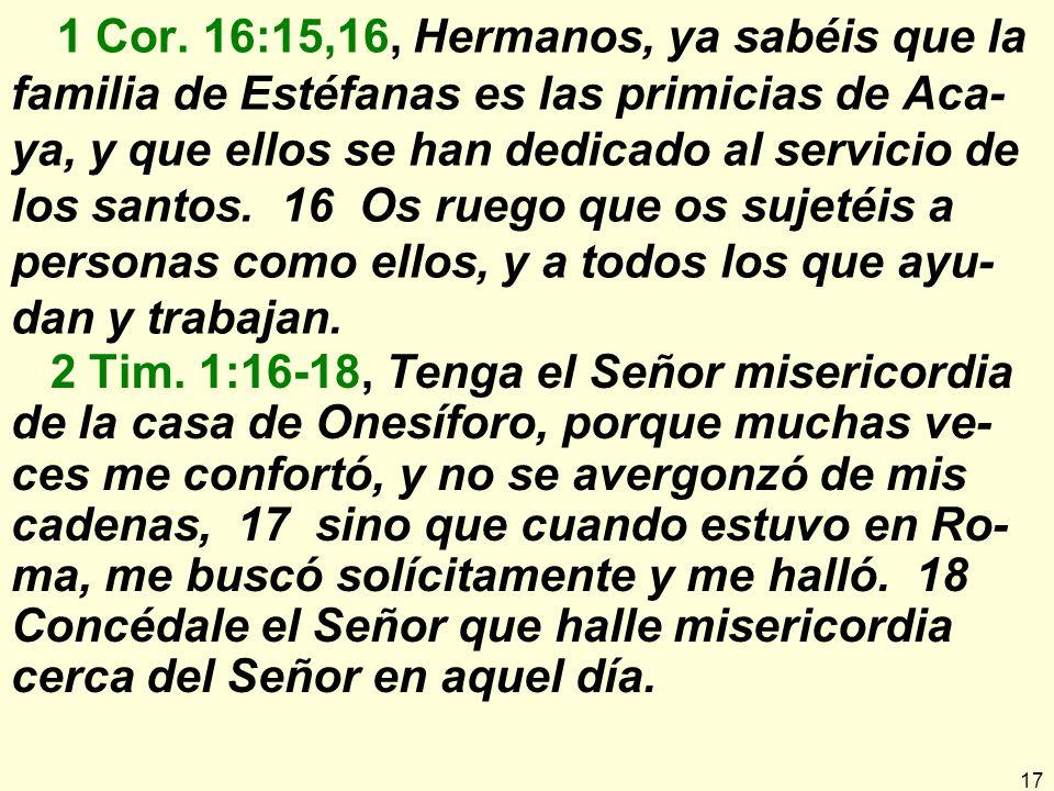 17 1 Cor.