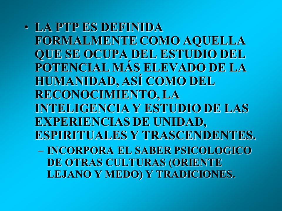 MASLOW DEFINE TRANSPERSONAL COMO AQUELLO QUE SE EXTIENDE O VA MÁS ALLÁ DE LO PERSONAL O INDIVIDUAL.- DE UNA EXTENCIÓN DE LA IDENTIDAD.MASLOW DEFINE TR