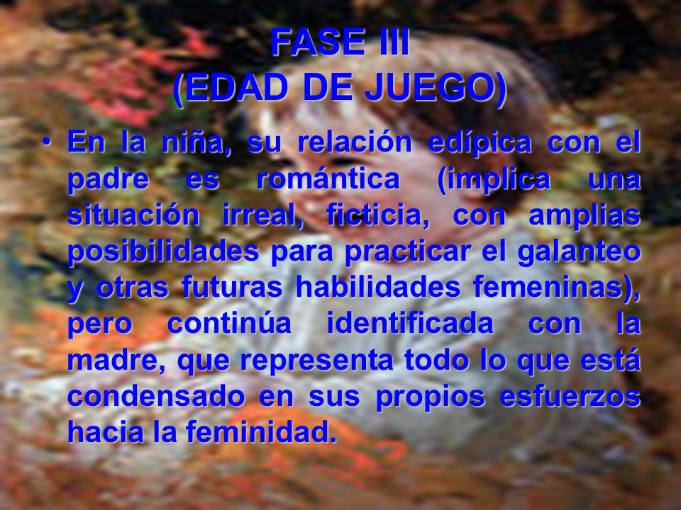 En la psicología analítica, esta fase se caracteriza por sus complicaciones edípicas.En la psicología analítica, esta fase se caracteriza por sus comp