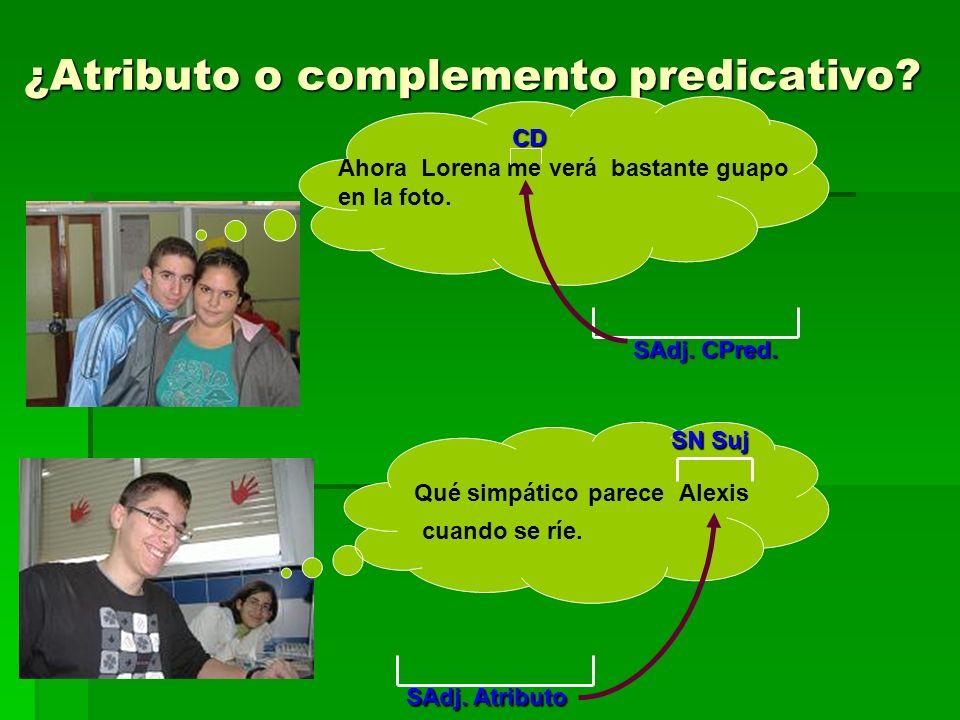 El sintagma adjetival Estructura Estructura El sintagma Adjetival COMPONENTES Adverbio o sintagma adverbial AdjetivoSintagma preposicional preposicional CUANTIFICADORNÚCLEO COMPLEMENTO DE ADJ.