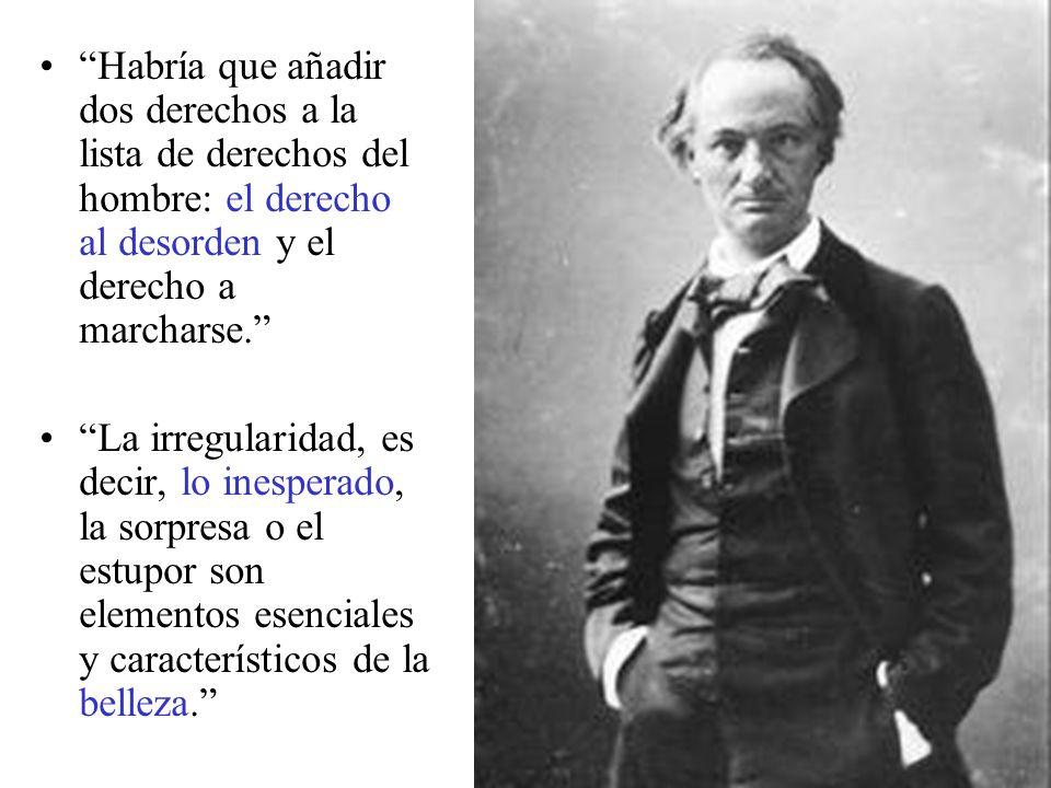 Posteriormente, publica Los paraísos artificiales, un ensayo en el que relata su experiencia con el hachís y el opio.