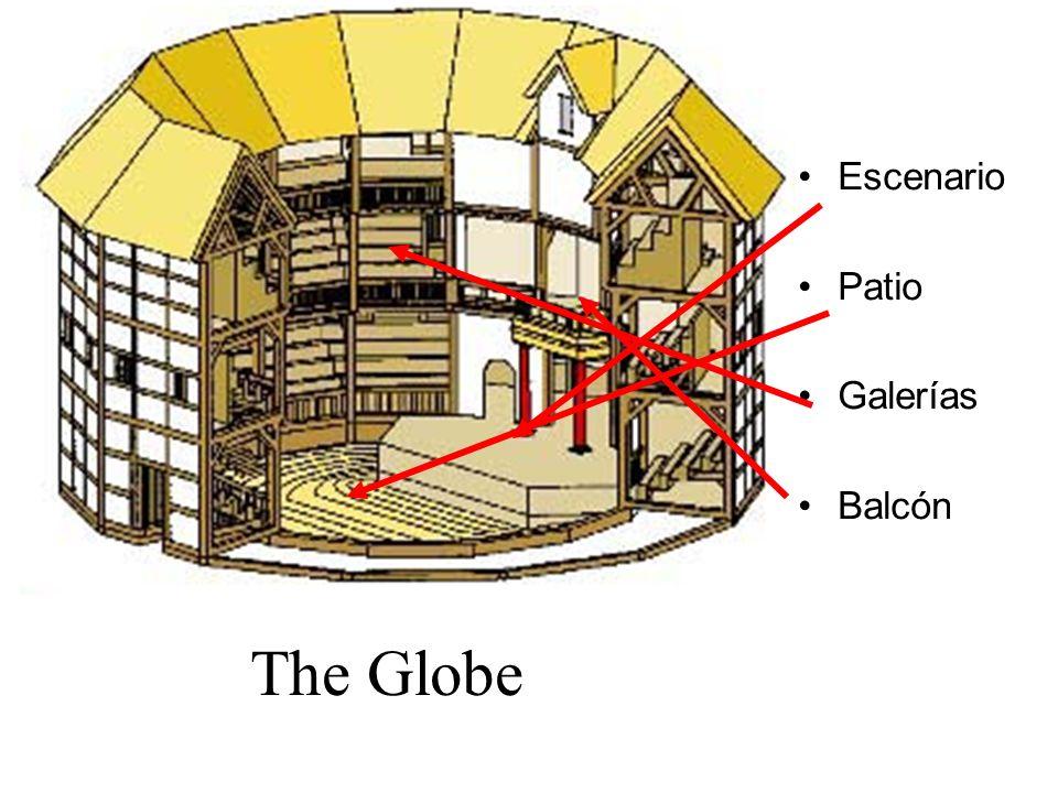 The Globe Escenario Patio Galerías Balcón