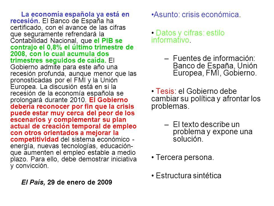 La economía española ya está en recesión. El Banco de España ha certificado, con el avance de las cifras que seguramente refrendará la Contabilidad Na