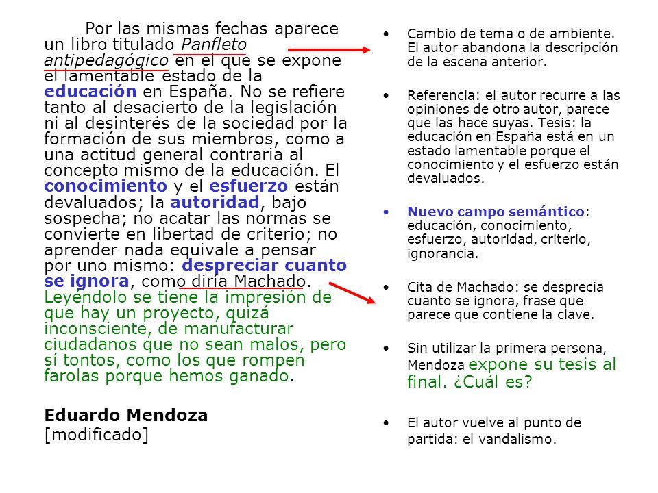 Por las mismas fechas aparece un libro titulado Panfleto antipedagógico en el que se expone el lamentable estado de la educación en España. No se refi