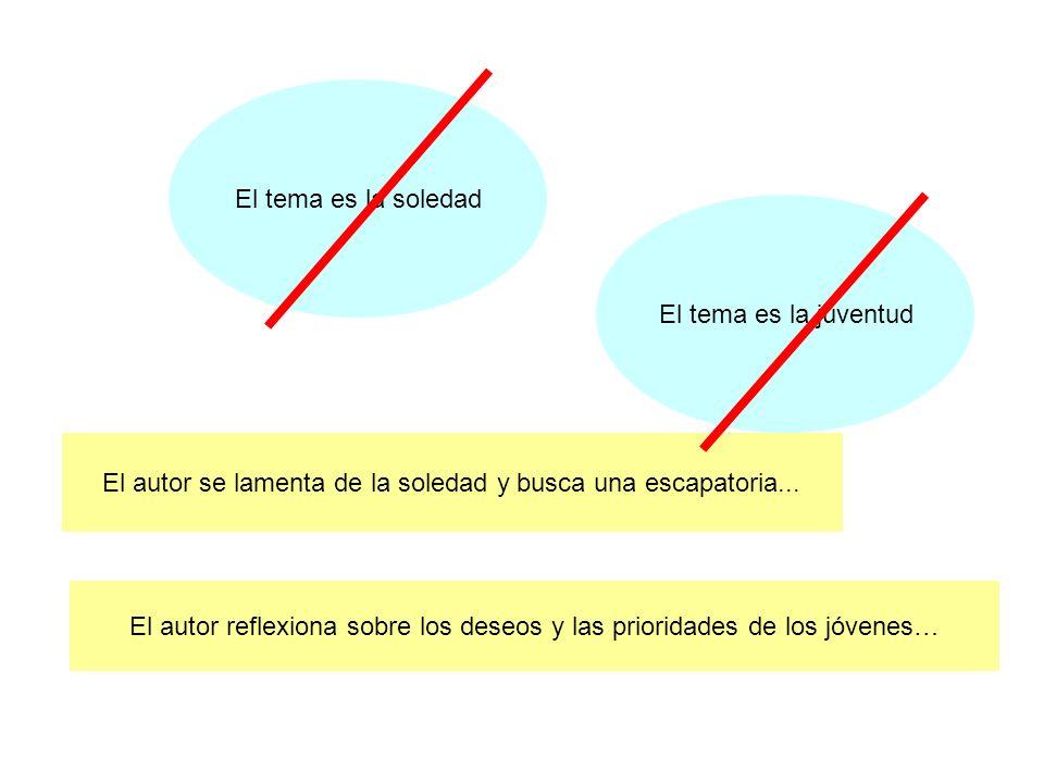 Representadas sintéticamente, las ideas serían las siguientes: 1.Disturbios en Barcelona.