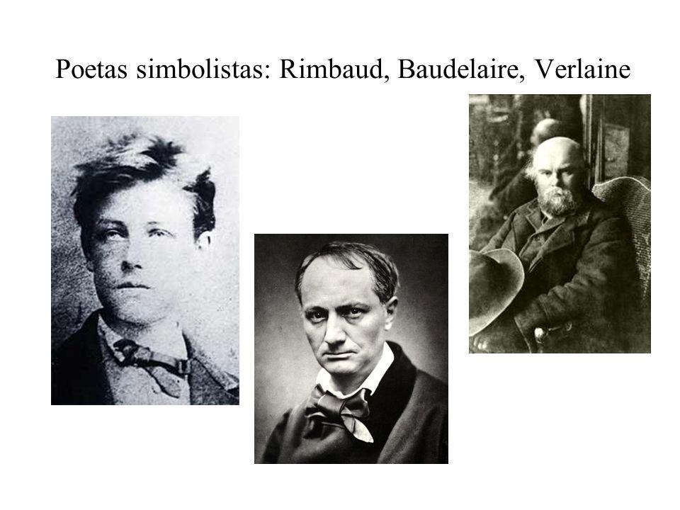 Simbolismo: Charles Baudelaire Suelen, por divertirse, los mozos marineros cazar albatros, grandes pájaros de los mares que siguen lentamente, indolentes viajeros, el barco, que navega sobre abismos y azares.
