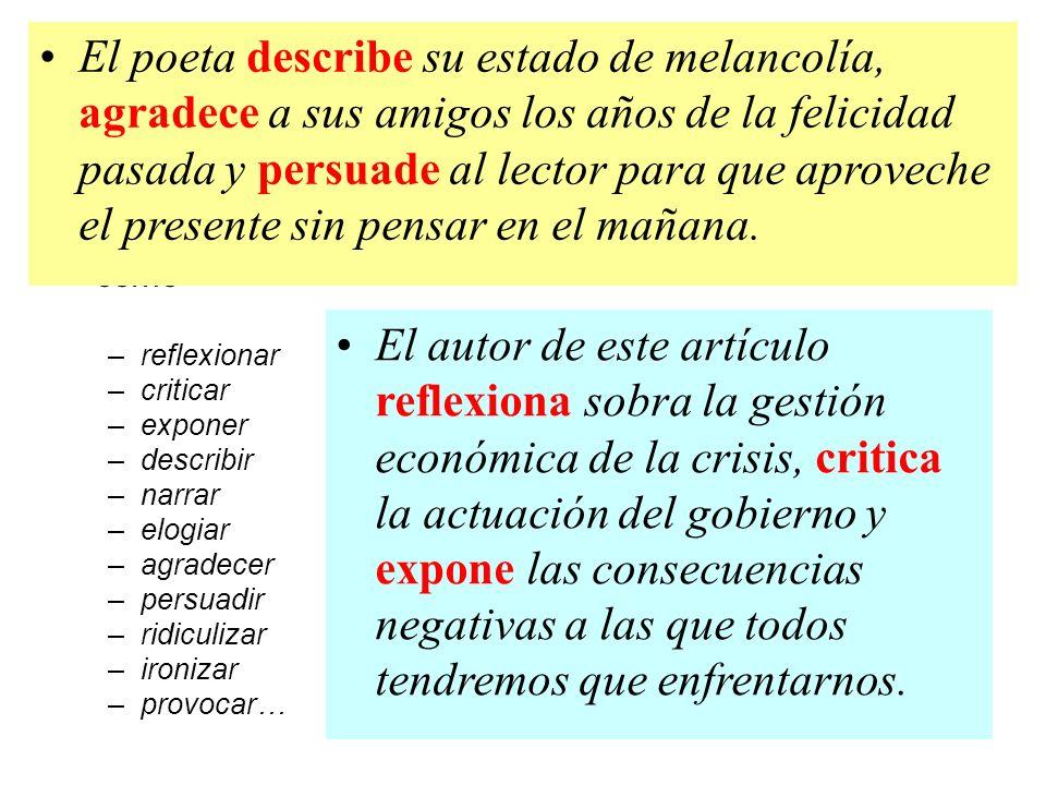 El tema principal del texto debe ser definido en una oración completa, con sujeto y predicado, sin utilizar flechas ni guiones.