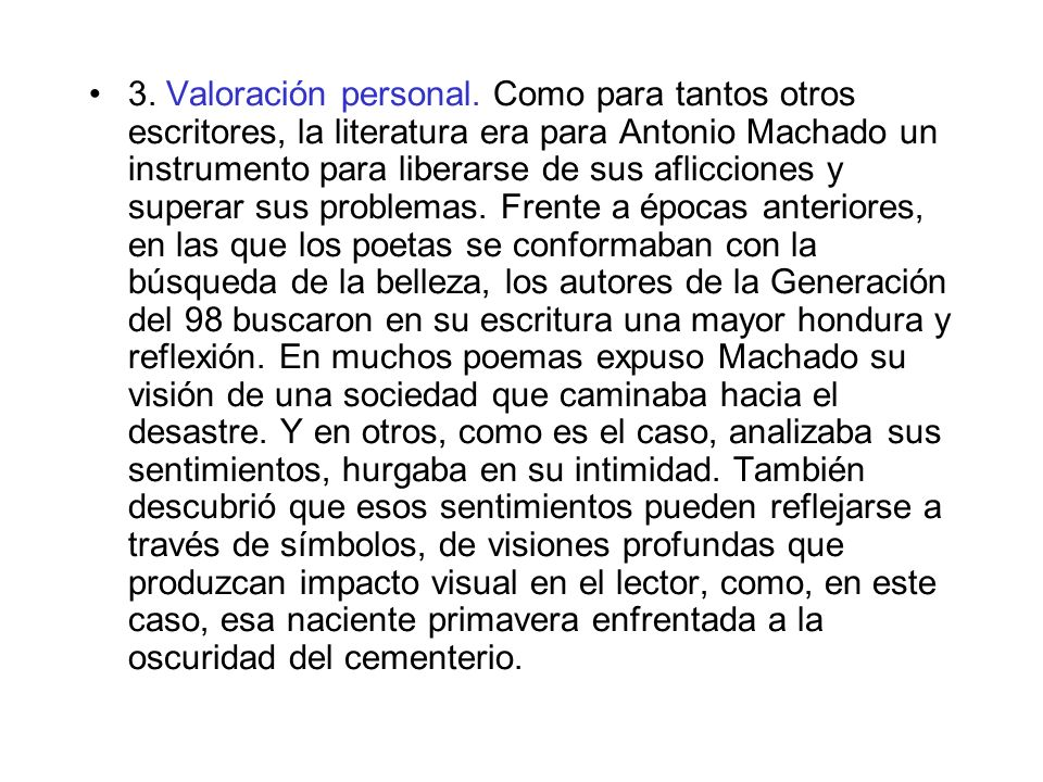 3.Valoración personal.