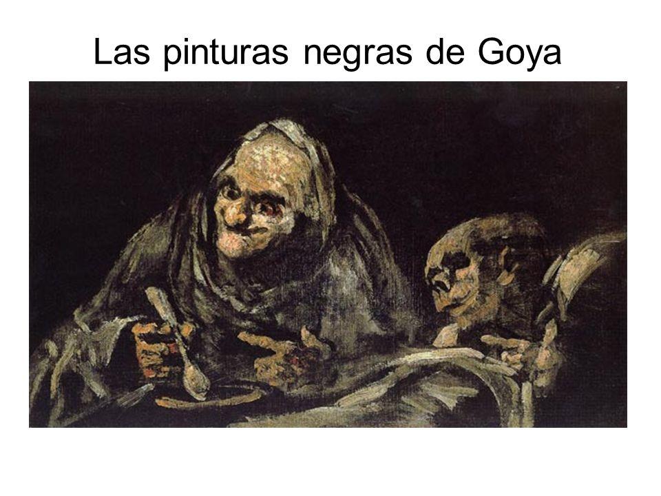 Las pinturas negras de Goya