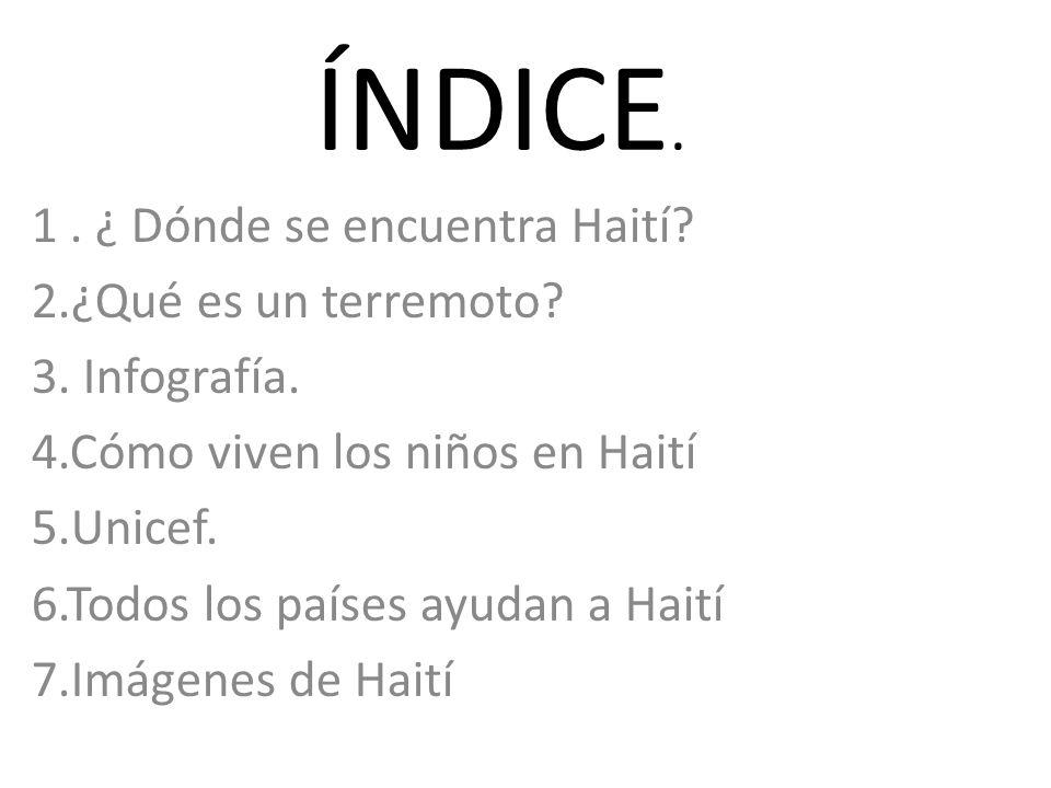 Un mundo nuevo para Haití.
