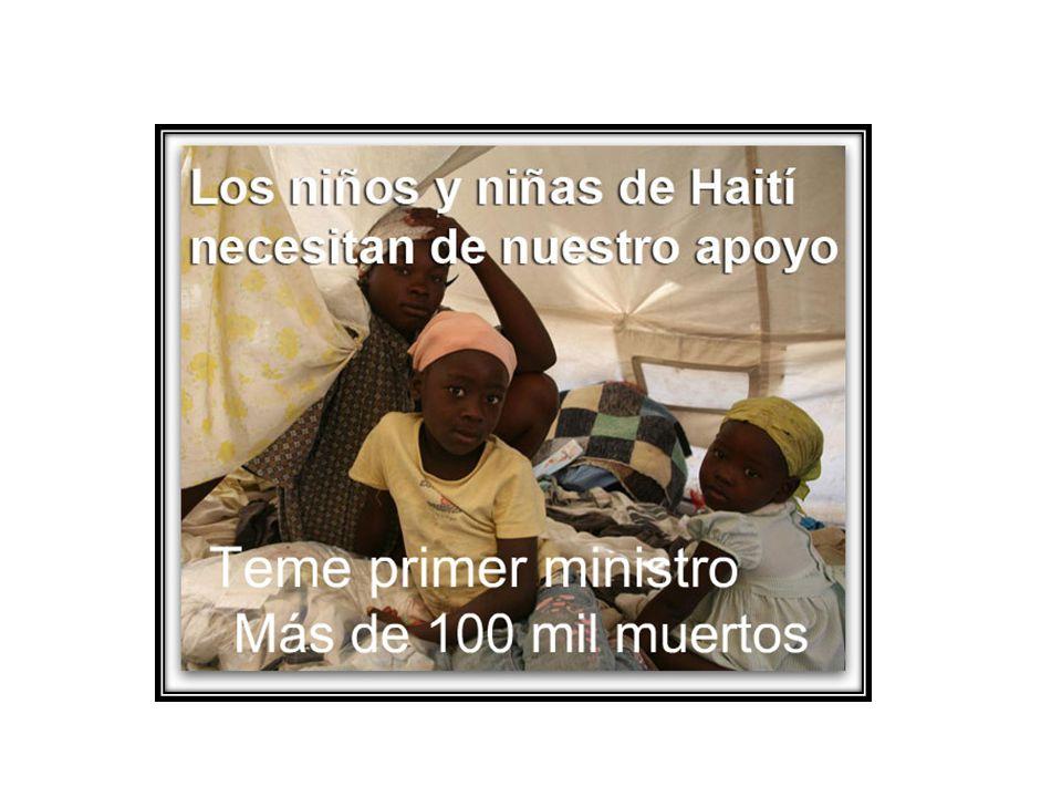 Cómo Viven los niñ@s en Haití