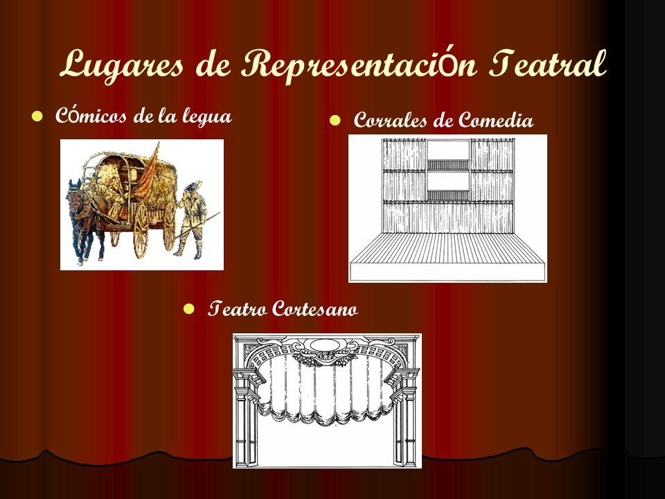 Lugares de Representaci ó n Teatral Corrales de Comedia C ó micos de la legua Teatro Cortesano