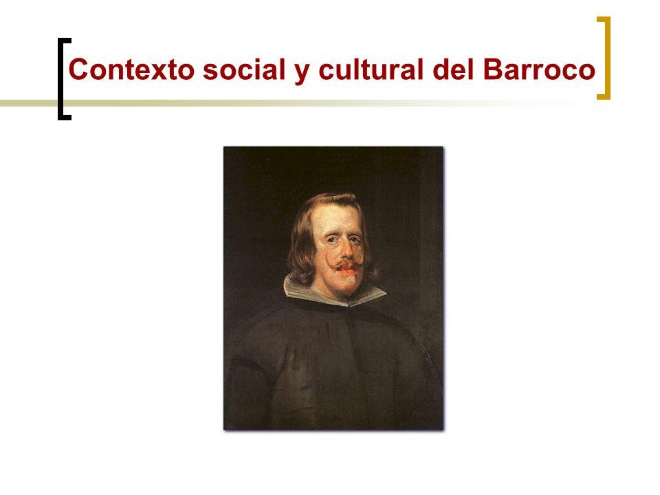 EL BARROCO (S. XVII) EL SIGLO DE ORO DE LA LITERATURA ESPAÑOLA